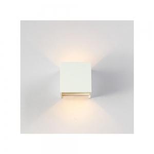 Applique da parete Cubo Bianco LED 12W Regolabile IP65
