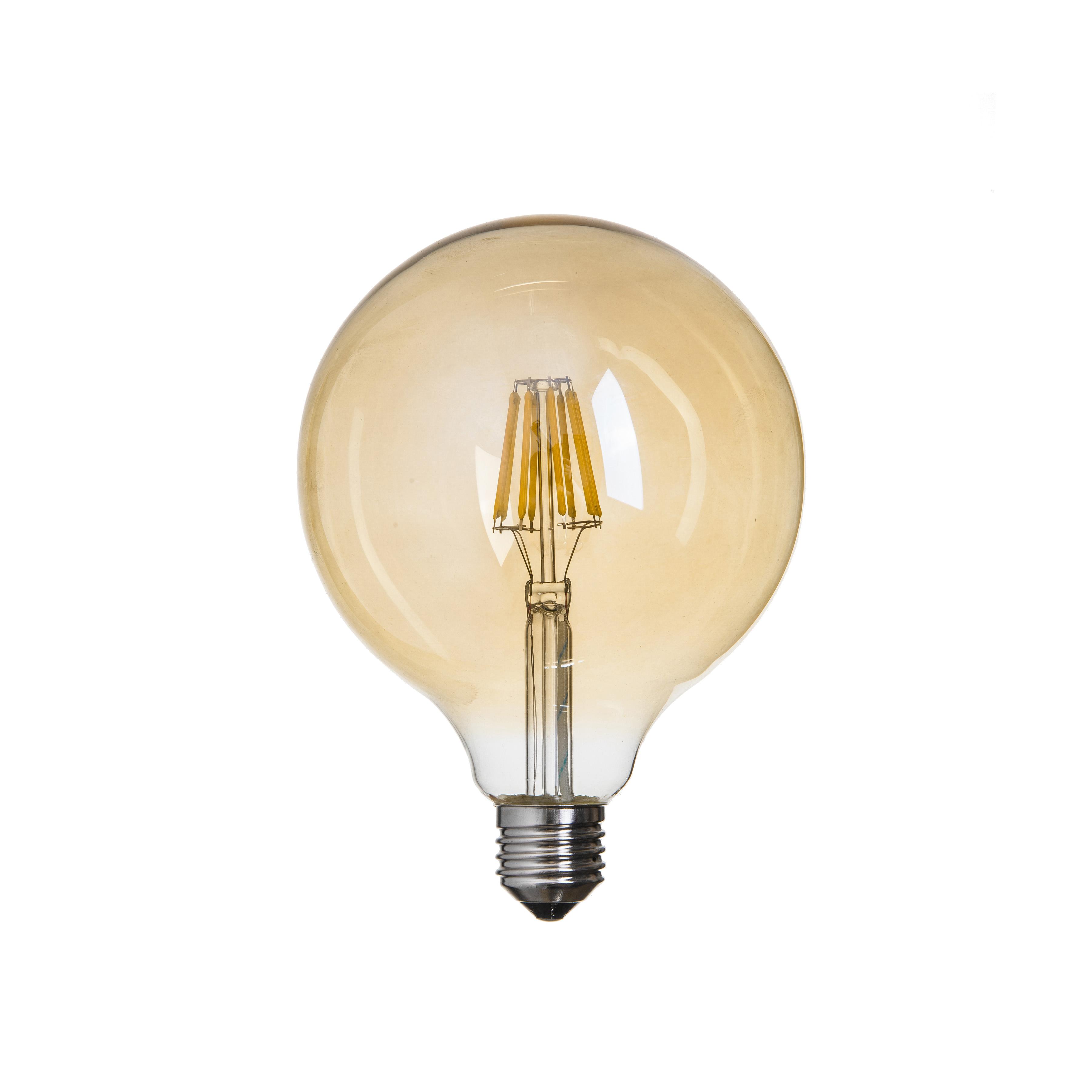lampadina LED Filamento Vintage G95 E27 6W