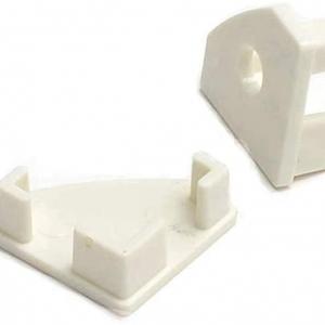 Coppia di Tappi integrazione per profilo alluminio angolare ...
