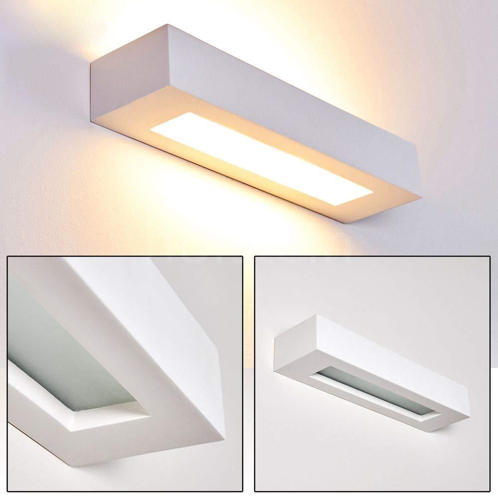 Applique da Parete Rettangolare con Stile Moderno,Up Down Interni Lampada a  Muro per Decorazione in Alluminio, Perfetto per Soggiorno Corridoio Bagno  ...