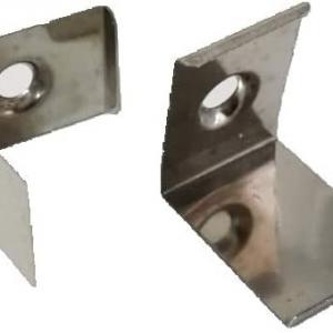 Coppia di Ganci integrazione per profilo alluminio angolare ...