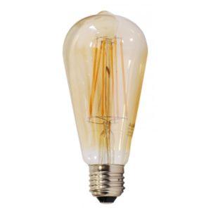 lampadina LED Filamento Vintage ST21 E27 6W