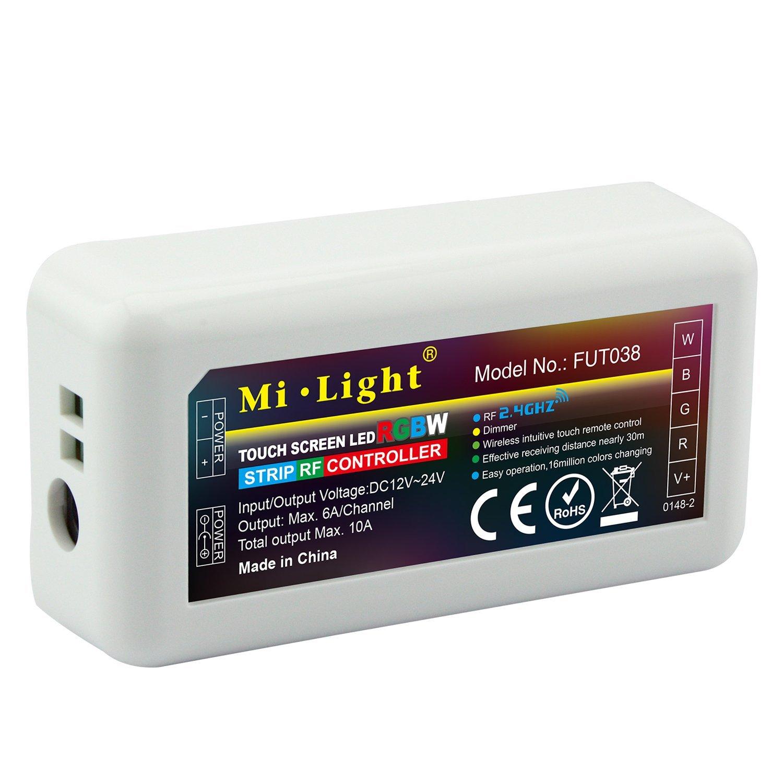 Mi light - Ricevitore RGB+W 12V / 24V 10A Wifi