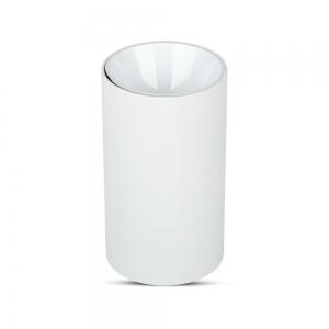 Lampada da soffitto Cilindro bianco con attacco GU10