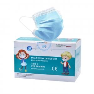 Mascherine Chirurgiche Colorate per bambini – Monouso ...