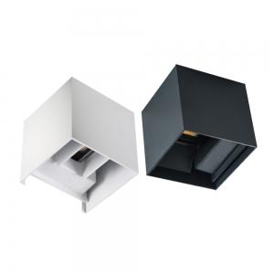Applique da parete Cubo Bianco o antracite LED 7W 4000K Rego...