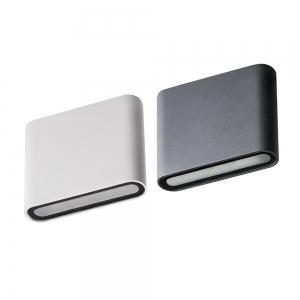 Applique da parete Garto Bianco o antracite LED 8W 4000K IP5...