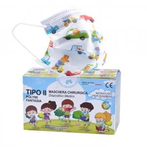 50 Mascherine chirurgiche italiane per Bambini – Made ...