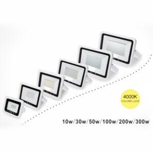 Faro LED proiettore da 10W a 300W 4000K IP65 (Copia)