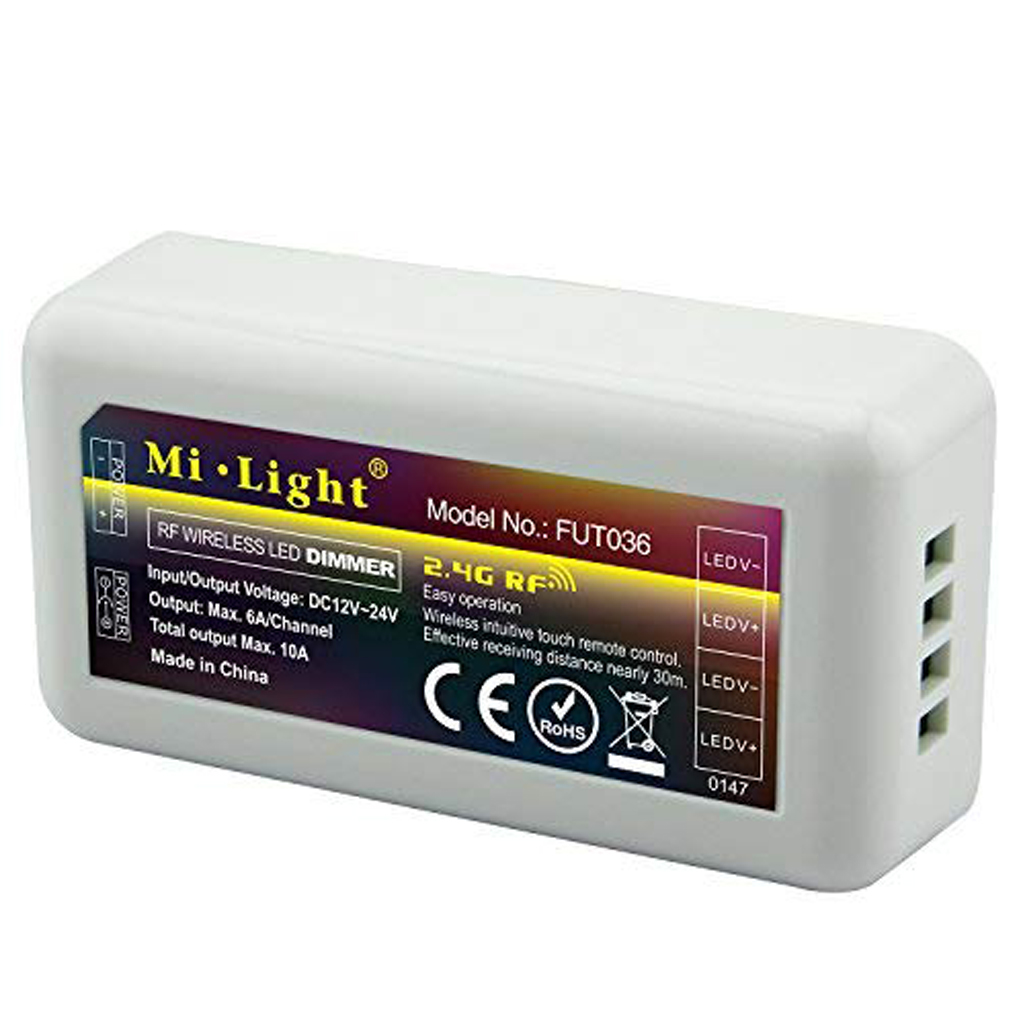 Mi light - Ricevitore Dimmer 12V / 24V 10A Wi-fi