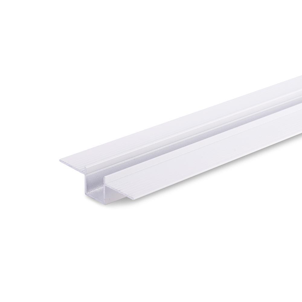 Profilo alluminio Bianco Incasso a scomparsa nel cartongesso