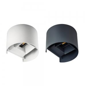 Applique da parete Semicilindro Bianco o antracite LED 7W 40...