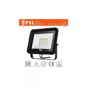 Faro LED proiettore nero da 10W a 200W 4000K o 6500K IP65