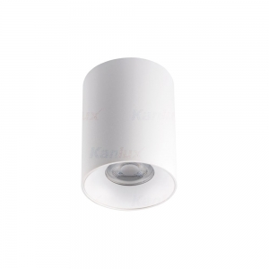 Lampada da soffitto a cilindro Bianco o Nero H 110mm GU10