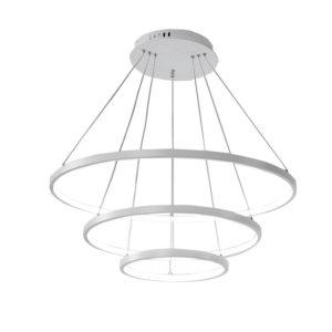 Eurekaled – Lampadario a sospensione LED moderno 3 ane...