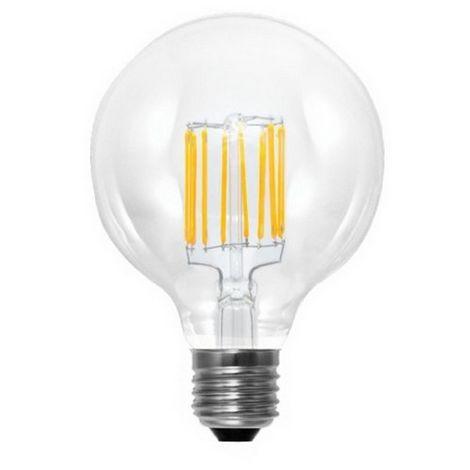 lampadina LED Filamento G125 E27 6W 2700K