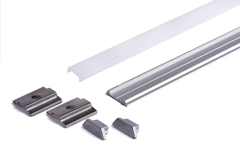 Profilo alluminio Pieghevole ARC12 copertura opaca