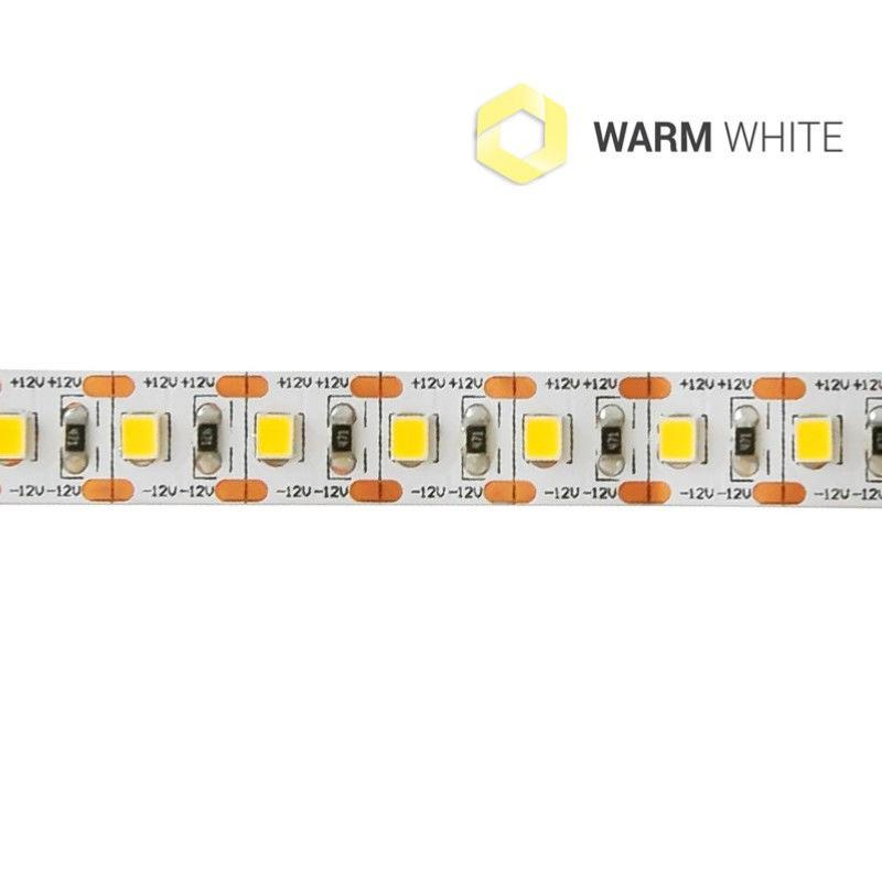 Striscia Led 5mt 12V 80W Led Singolo Taglio 7200 lumen IP20